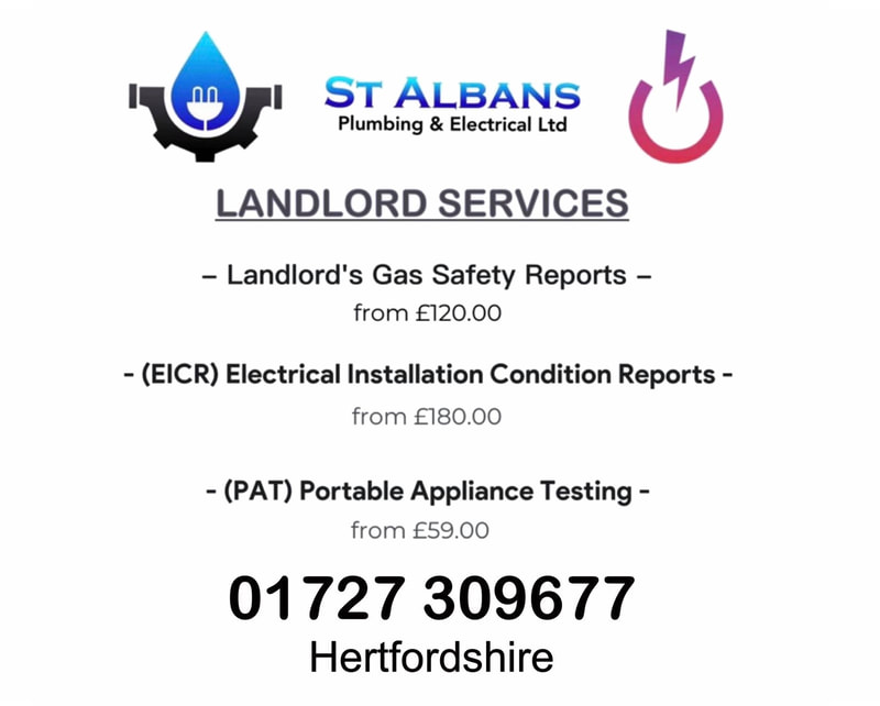 landlord services - st albans plumbing and electrical ltd